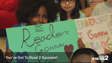 Joyner Elementary is Reading 2 Succeed