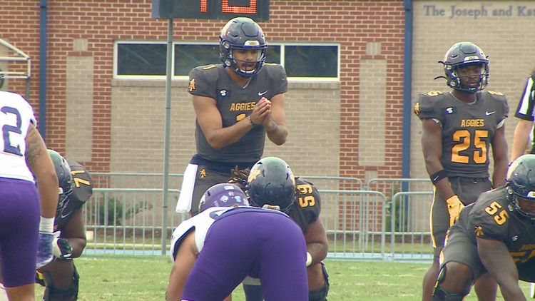 Fowler's quick strike rallies N.C. A&T past North Alabama 38-34