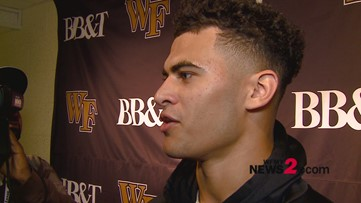 Postgame Interview With Sage Surratt After Wake Forest's 44-10 Win Over NC State