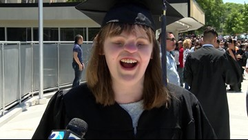 NC Girl Born With No Eyes, Nose Graduates College