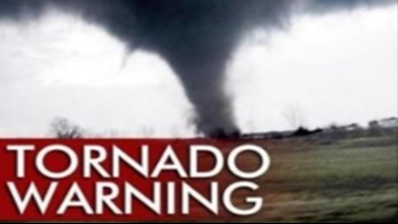 Tornado Warning Issued For Several Triad Counties