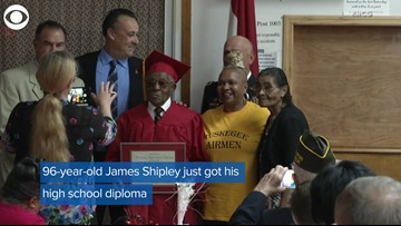 96-Year-Old Tuskegee Airmen Mechanic Gets His High School Diploma