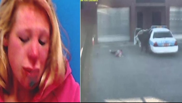 Video Released Shows Former Police Officer Slamming Woman To Ground