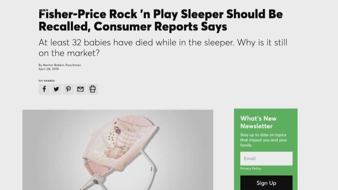 Recalled Sleepers Still Being Found In Daycares | wfmynews2 com