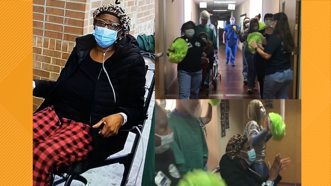 Hospital staff sing Pharrell Williams' 'Happy' as final patient leaves Cone Health's COVID-19 only facility