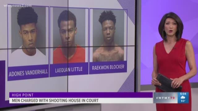 High Point Men Charged With Shooting At Home Appear in Court