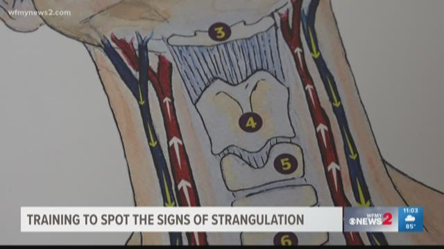 Family Justice Center in Greensboro Trains To Spot The Signs of  Strangulation