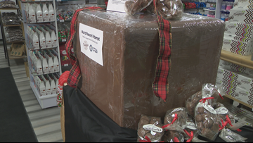 Sweet goal: Niagara Chocolates aims for Guinness sponge candy record