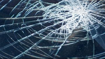 Winston-Salem/Forsyth County School Bus Crashes Into Neighborhood Sign