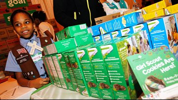 Girl Scout cookie season returns with new flavor