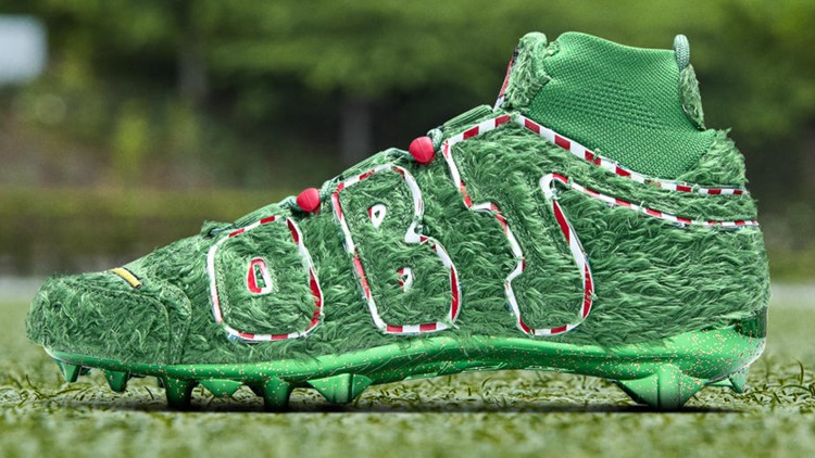 OBJ Grinch Cleats