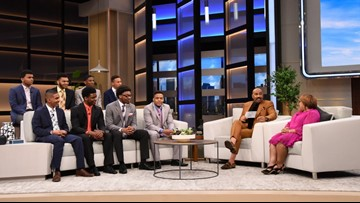 Steve Harvey awards 8 students scholarships to Kent State, where he himself was once a student