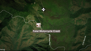 Motorcyclist from SC dies in crash on Blue Ridge Parkway in NC