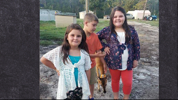 Deer Photobombs First Day of School Photo