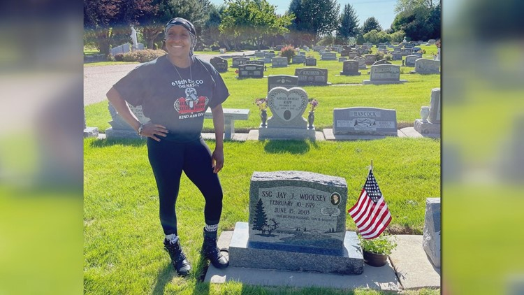 18 years later, veteran fulfills promise to late husband