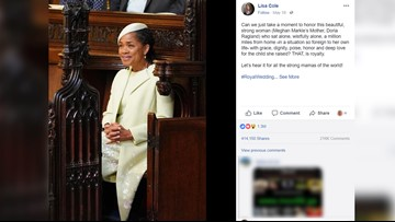 SC Woman's Royal Wedding Post Goes Viral