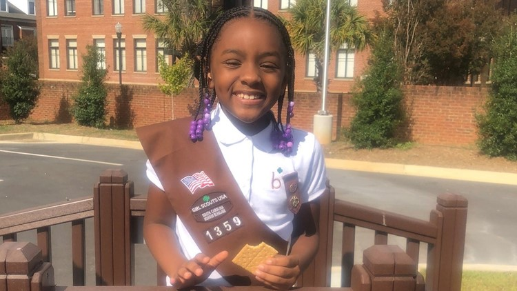 South Carolina Girl Scout sells more than 5,000 boxes of cookies for one very specific goal