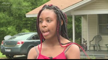 'I feel like God watched over me': 14-year-old survives lightning strike