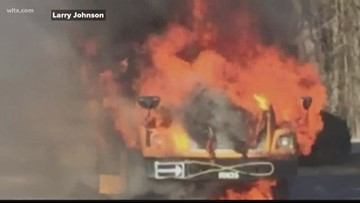 SC Dad Helps Save Kindergartners From Burning Bus