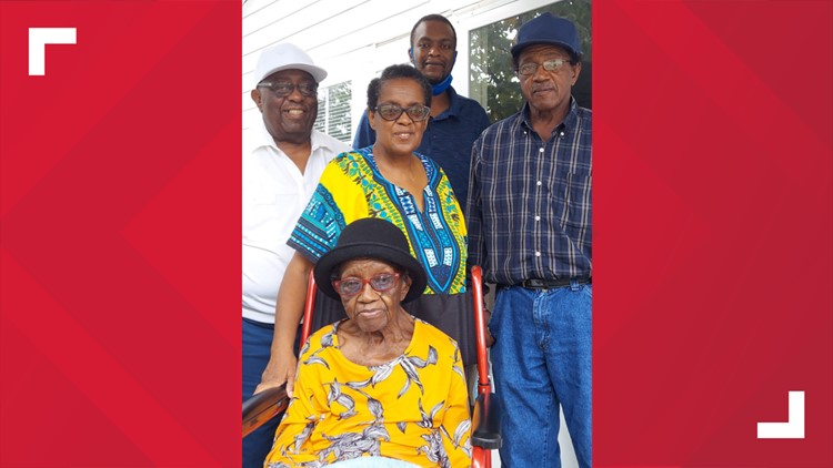 South Carolina woman celebrates 102nd birthday!