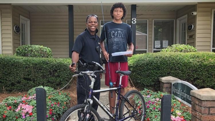 Lexington Police Donate Bike