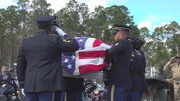 Community honors unclaimed veteran with funeral