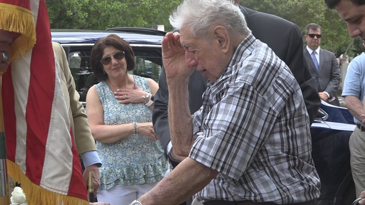 'It's all for him': WWII Vet honors SC lieutenant who saved his life in battle years ago