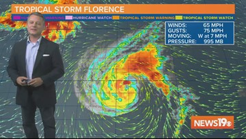 Tropical Storm Florence Forecast: Storm Now Expected to Impact U.S.