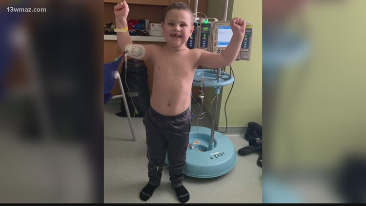 'You would never know': Parents of Georgia toddler battling cancer ask for prayers