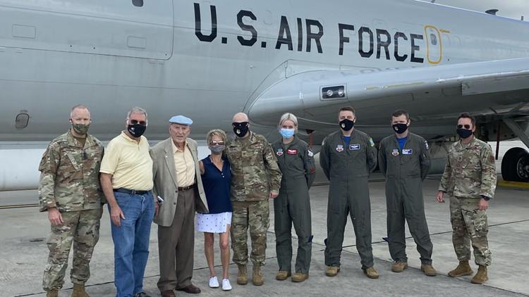 Robins Air Force Base celebrates WWII veteran's 98th birthday