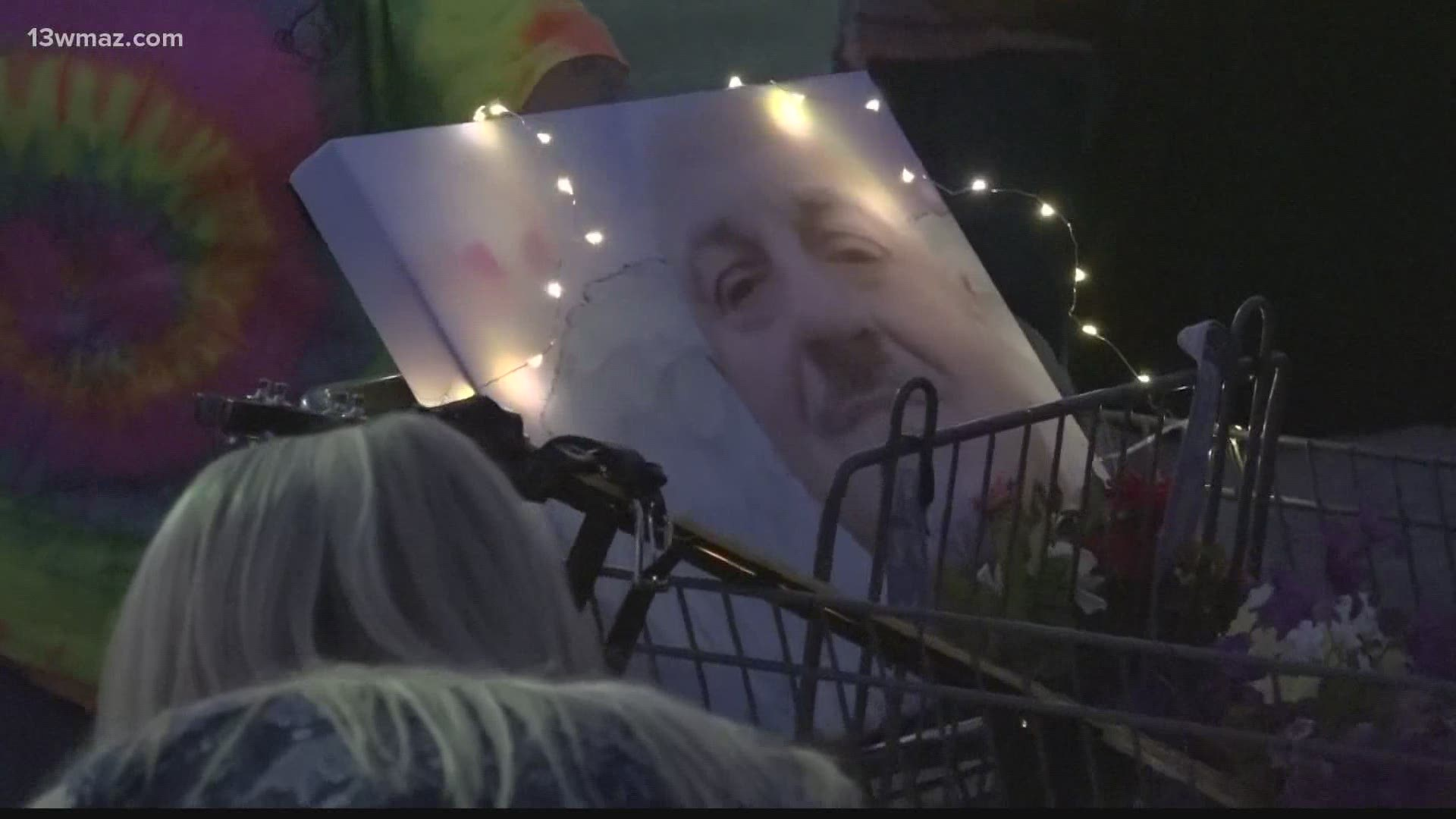 Roy Long Remembered By Family And Friends At Warner Robins Vigil Wfmynews2 Com