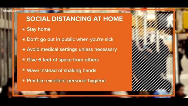 Social distancing at home