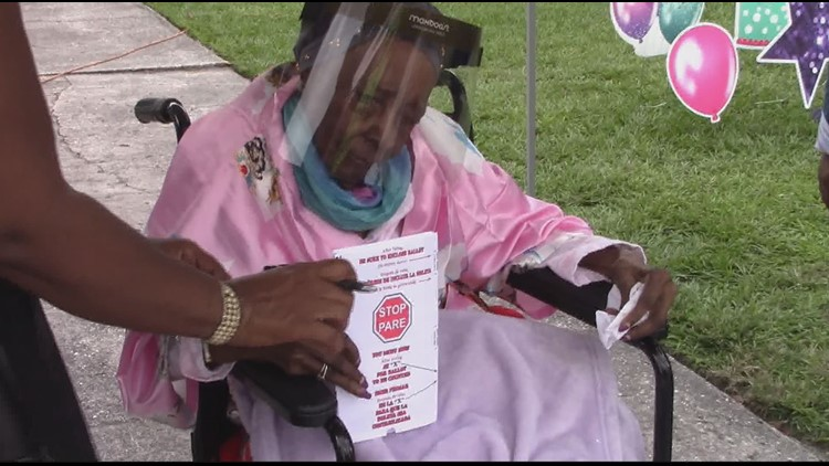 Florida woman votes on her 108th birthday, hopes to inspire others