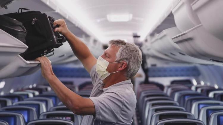 Chances of catching COVID-19 on commercial flights are low, report says
