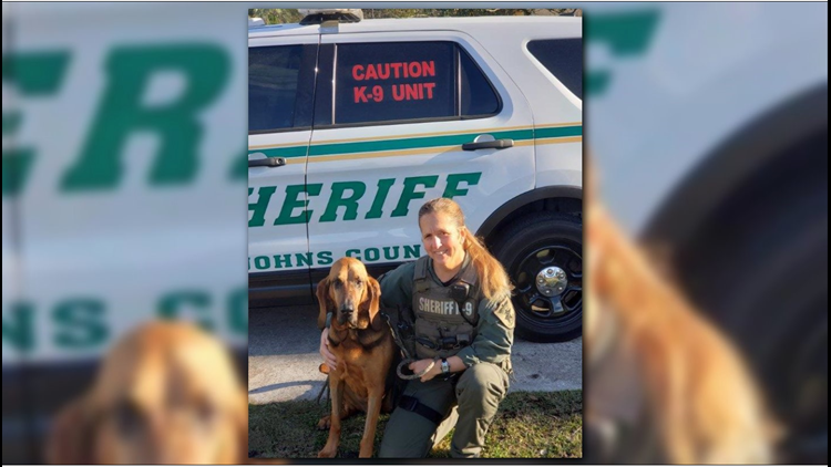 Deputy Merritt and K9 Invey