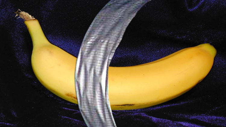 Banana With Duct Tape At Art Basel Miami Beach Sells For