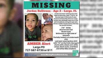 Largo police looking for suspect in sketch after Amber Alert of 2-year-old boy
