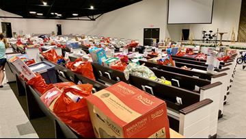 Mother collects hundreds of gifts for kids in foster care