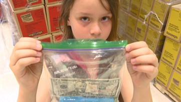 Who rips off Girl Scouts selling cookies? A customer gives a fake $50 and asks for change.