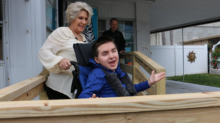 'This kid's got my heart': Fire medic rallies support to build a wheelchair ramp for boy confined to home