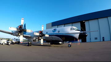 Take a ride with the NOAA Hurricane Hunters: A research lab in the middle of a monster