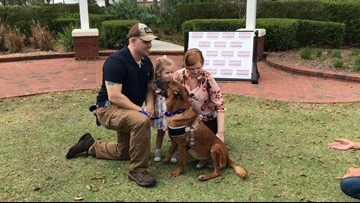 Soldier Reunites With Retired Bomb Detection Dog After Years Apart