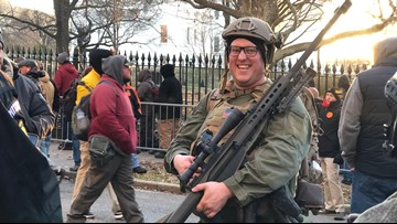 Of the 22,000 who attended VA Lobby Day, many armed with assault rifles and handguns, one arrest was made
