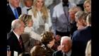 President Trump salutes Hillary. No, really