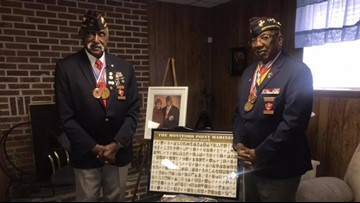 2 Montford Point Marines reflect on journey at segregated boot camp