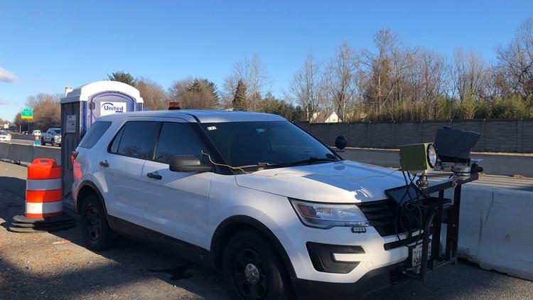 Speed Camera Hidden Behind Porta Potty on Maryland Highway Will Starting Issuing Tickets
