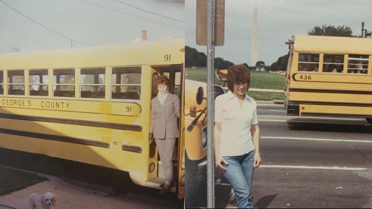 Anne Cuddy - Longest serving school bus driver for PGCPS