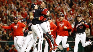 Nationals advance to the World Series for the first time