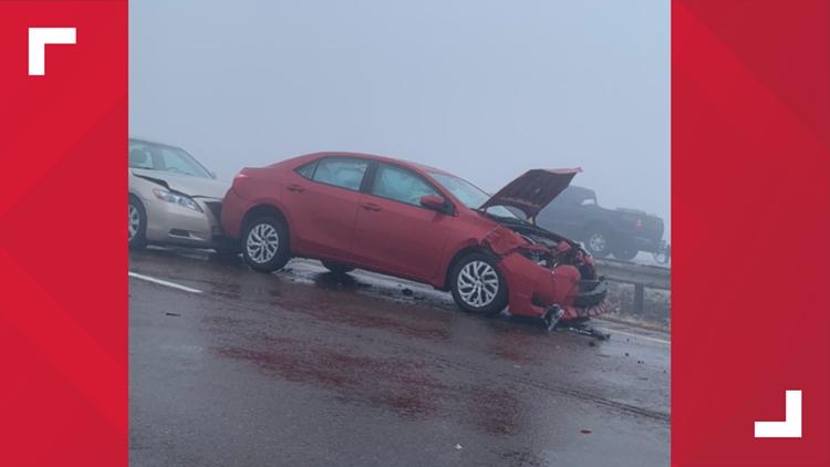 Crash on I-68