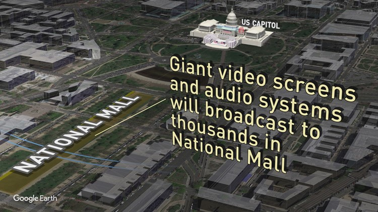 Virtual tour of Inaugural events